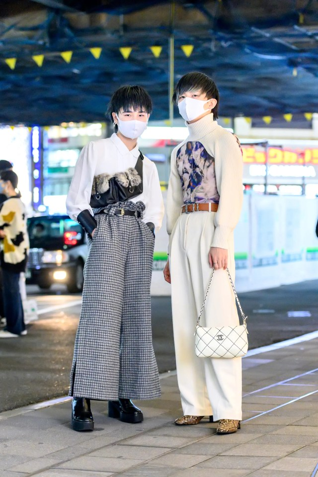 Street style Tokyo Fashion Week, Tokyo, Giappone, 15 ottobre 2020