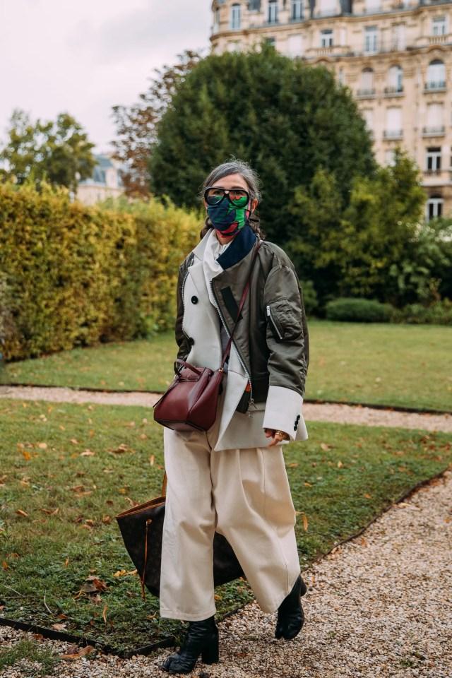 Veronique Tristam. Parigi, ottobre 2020