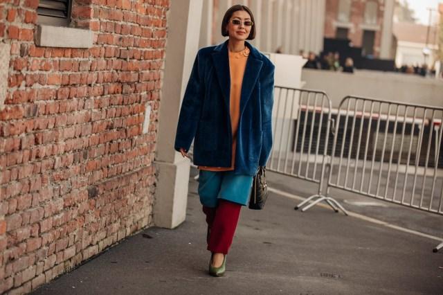 Street style Milano 19 febbraio 2020
