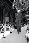 The presentation of the Yves Saint Laurent collection in 1981