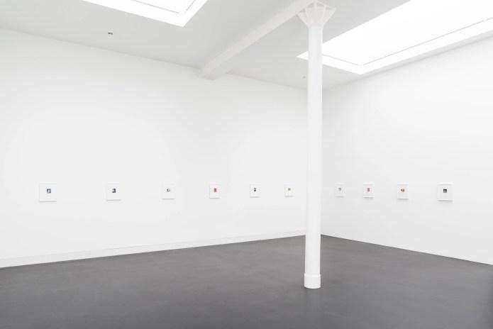 Walter Pfeiffer, Polaroids 1972-2021, 2021 Exhibition view, Galerie Gregor Staiger, Zurich