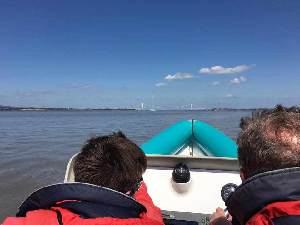 Level 2 training in the Bristol Channel