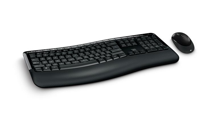 Microsoft Wireless Keyboard and Mouse Comfort Desktop 5050