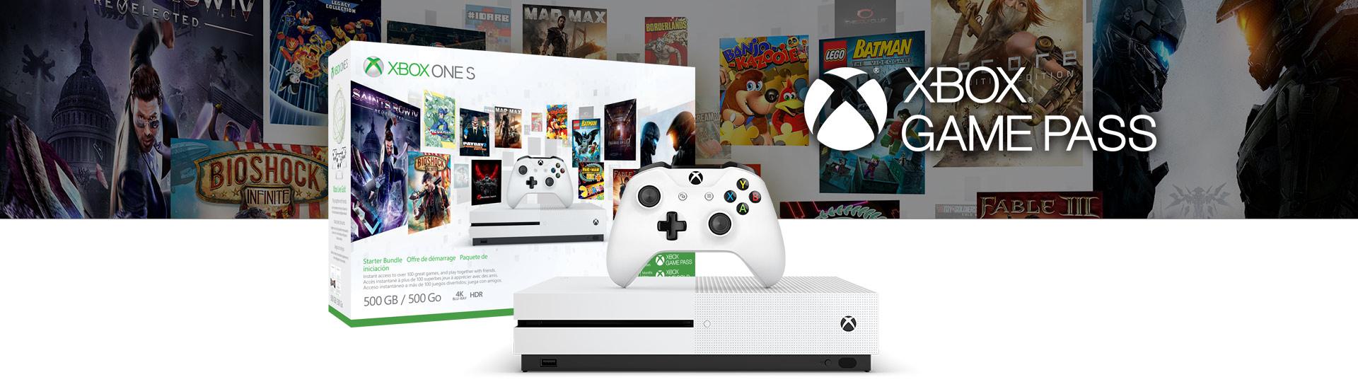 Zestaw startowy zkonsolą Xbox OneS (500GB)