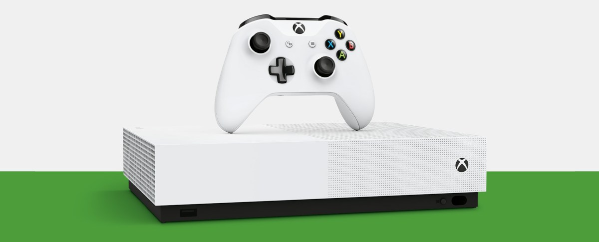 The New Xbox One S All-Digital Edition: Buy Now | Xbox