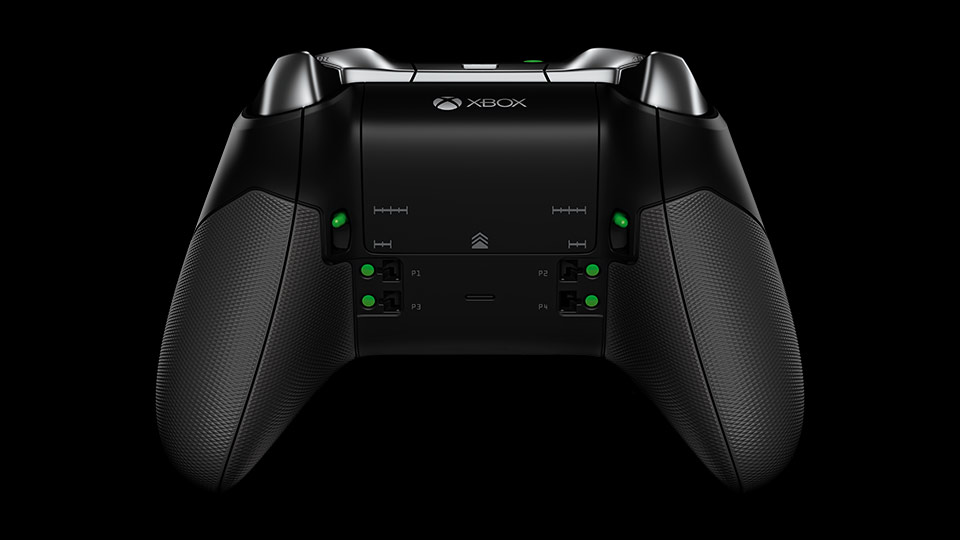 Elite Wireless Controller underside view