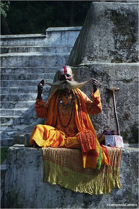 A Sadhu from my first trip in 2000