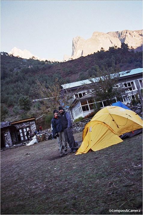 Camp at Phakding