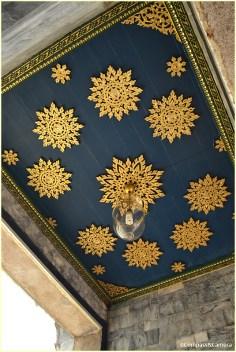Snamchand Pavilion ceiling detail