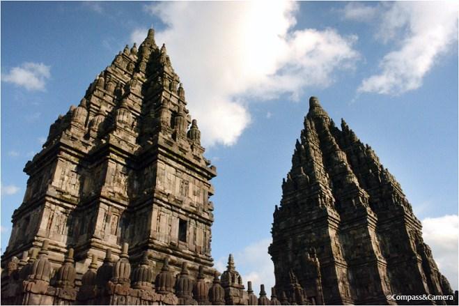 Shiva and Brahma temples