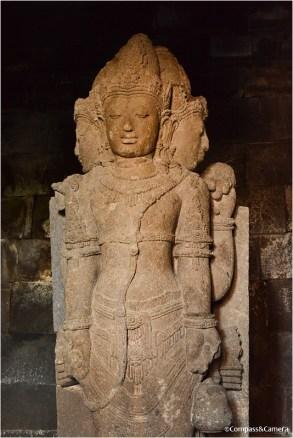 Brahma temple statue