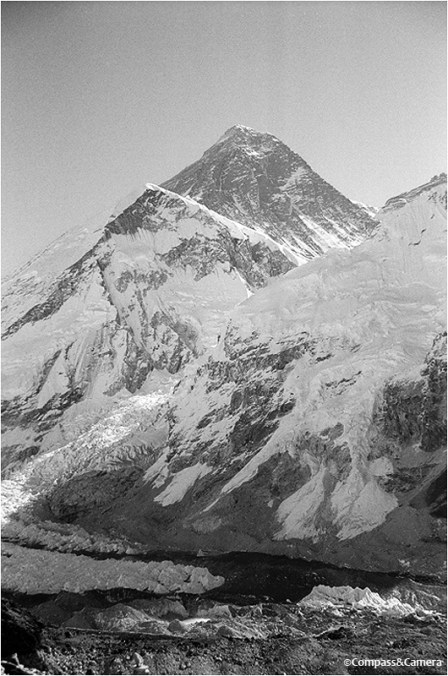 Mount Everest and the Khumbu Icefall