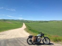 On the road to Pocatello