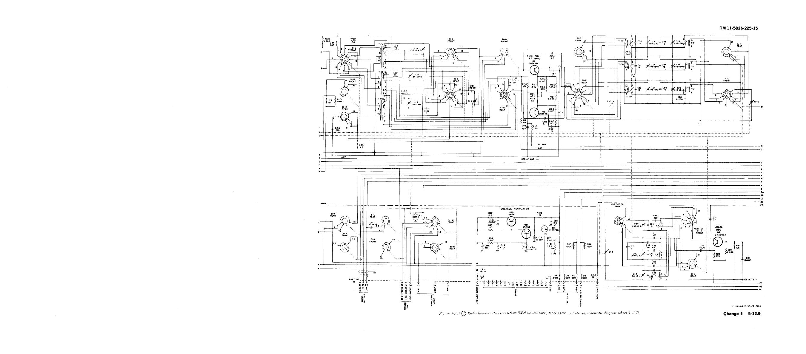 Figure 5 10 1 Radio Receiver Schematic Diagram Sheet 2