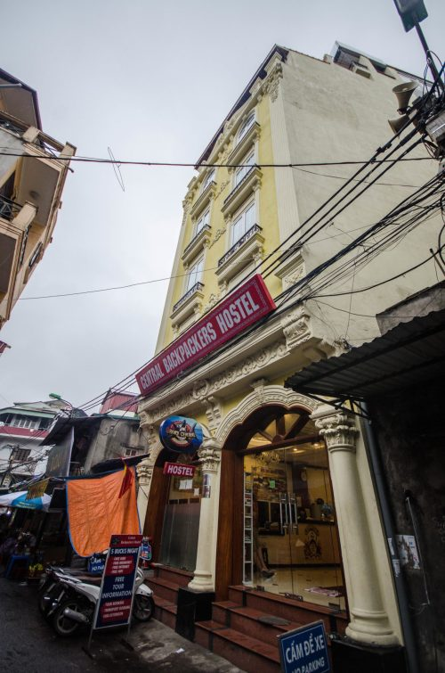 Central Backpackers in Hanoi