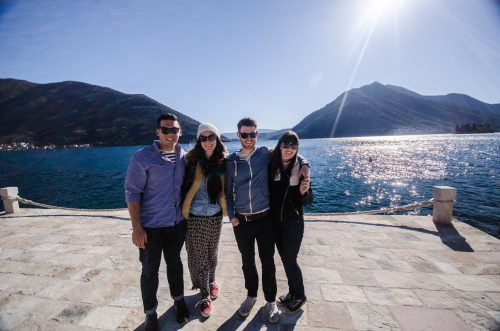 The Gang in Perast