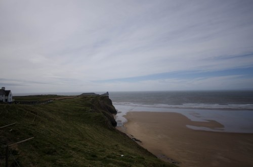 View towards Worm's Head