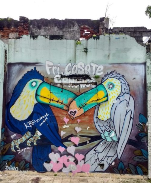 Street art in Casco Viejo