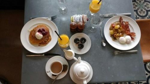 Yummy hotel breakfast