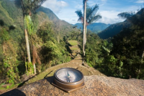Compass at The Lost City