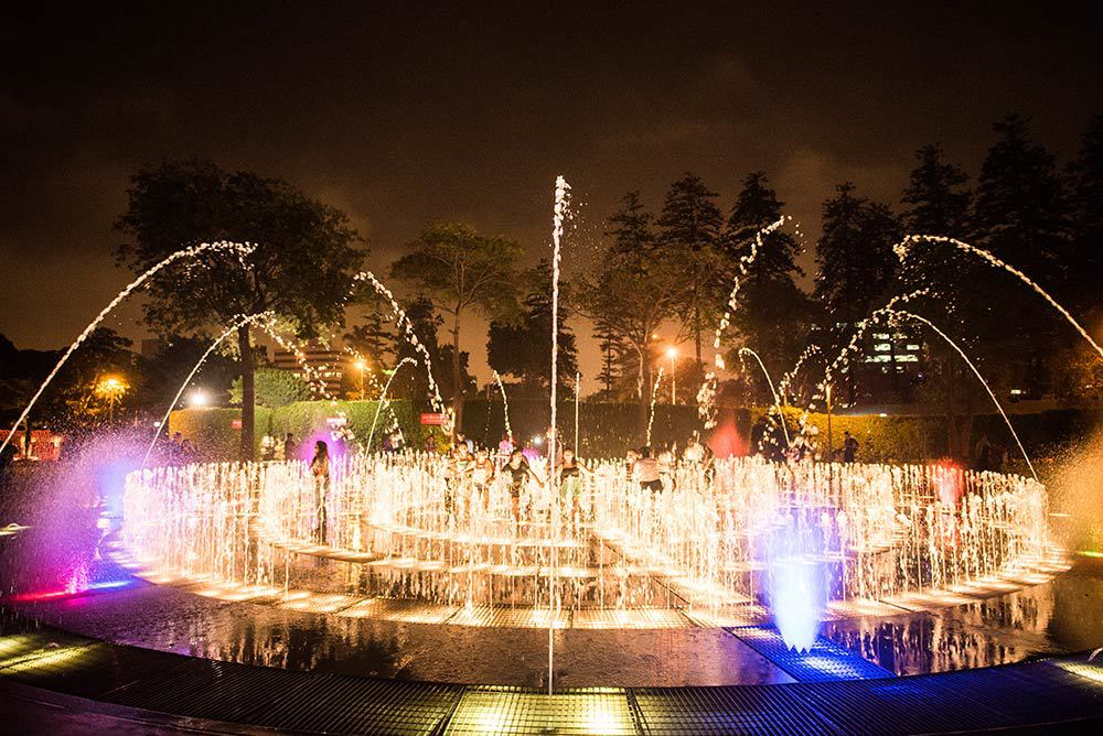 Magic Circuit Fountains, Lima
