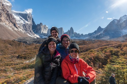 New friends in Torres del Paine