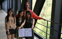 Susan Zhang, Vivia Liu, Glenn Zucman, Sharon Gong