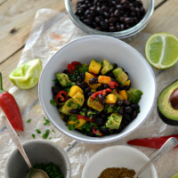 black bean salad200
