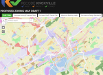 Recode Knoxville map page