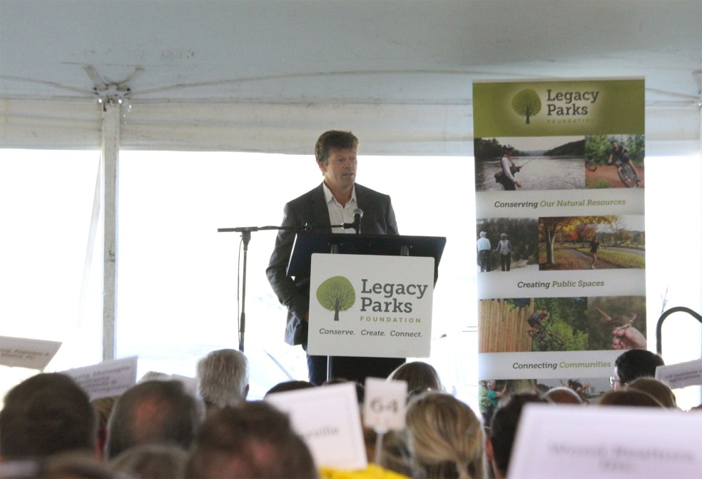 Pete Mcbride at Legacy Parks Luncheon
