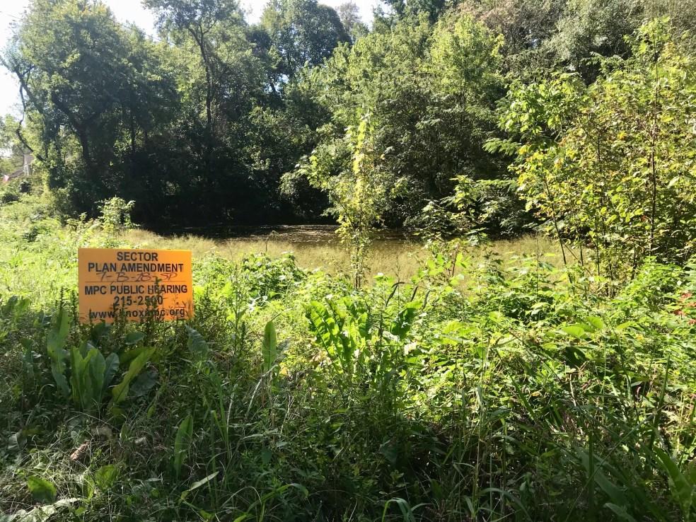 The pond at Pond Gap.