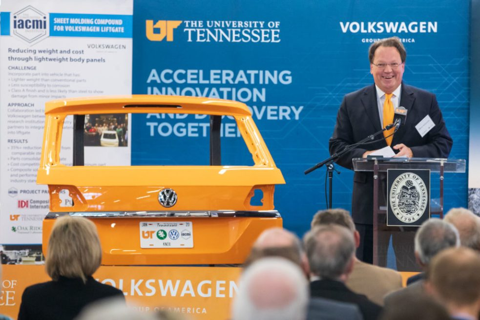 UT Volkswagen announcement