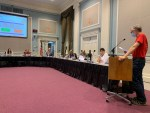 School board budget meeting