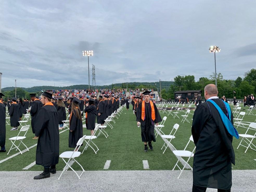 Powell High School graduation