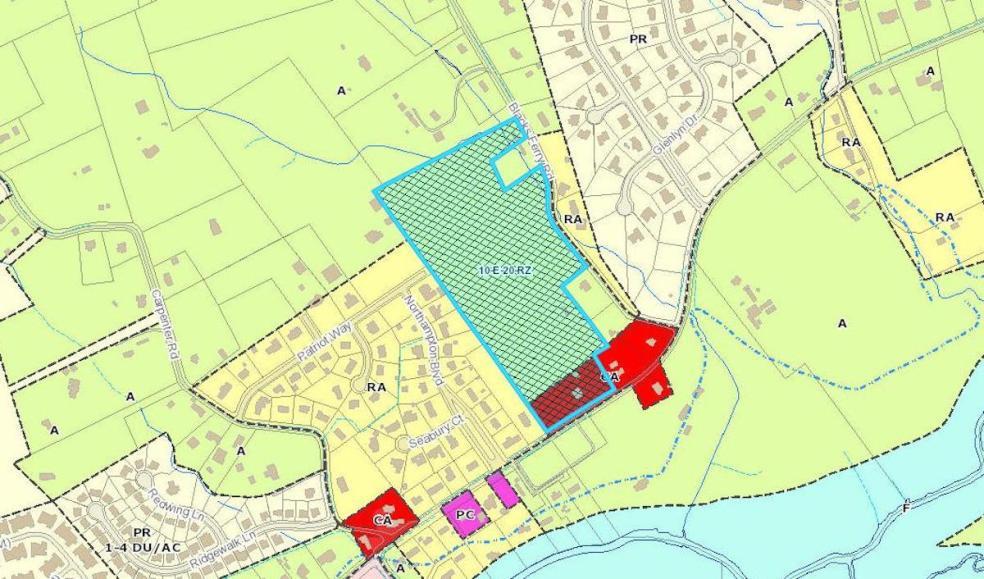 Karns subdivision