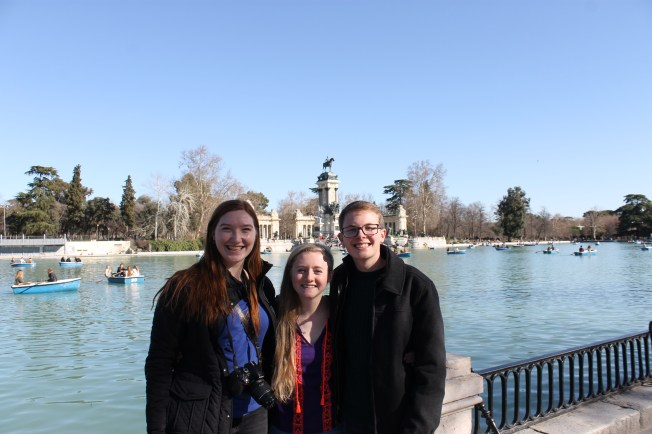 Smiles with Solis and Tommy in Retiro Par
