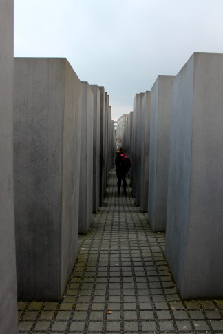 Keeks in the Holocaust Memorial