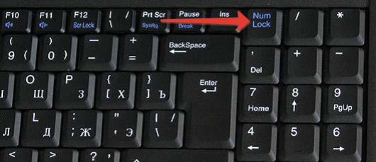 Menghidupkan komputer riba keyboard Digital