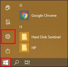 Windows 10 бастапқы мәзірі