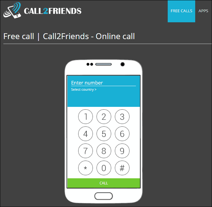 Dịch vụ Call2Friends.