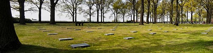 Langemark War Cemetery Panorama