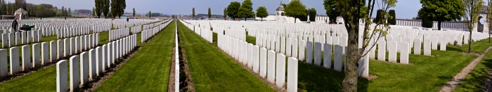 Tyne Cot Cemetery Panorama 1