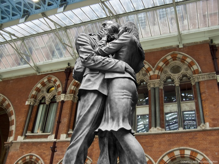 Sculpture at St Pancras