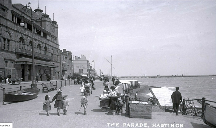 Hastings Parade and Hippodrome