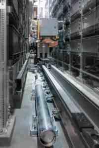 Shock absorber storage and retrieval machine