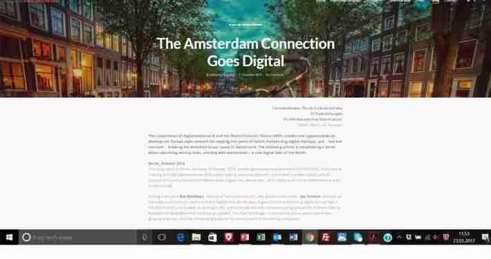 digitalswitzerland / Website und Posts / EN & DE