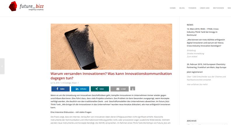 Wie funktioniert Innovationskommunikation?