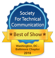 2018 Competition Best of Show badge