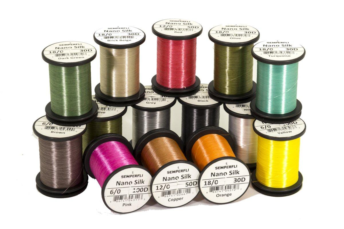 Semperfli Nano Silk Ultra Fine Tying Thread 30D (18/0) - Competitive Angler