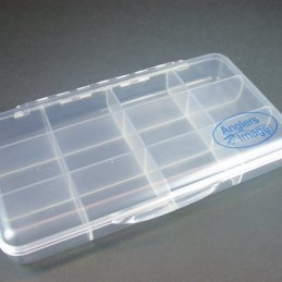 Anglers Image Ultra-Clear Fly Box (12 compartments)